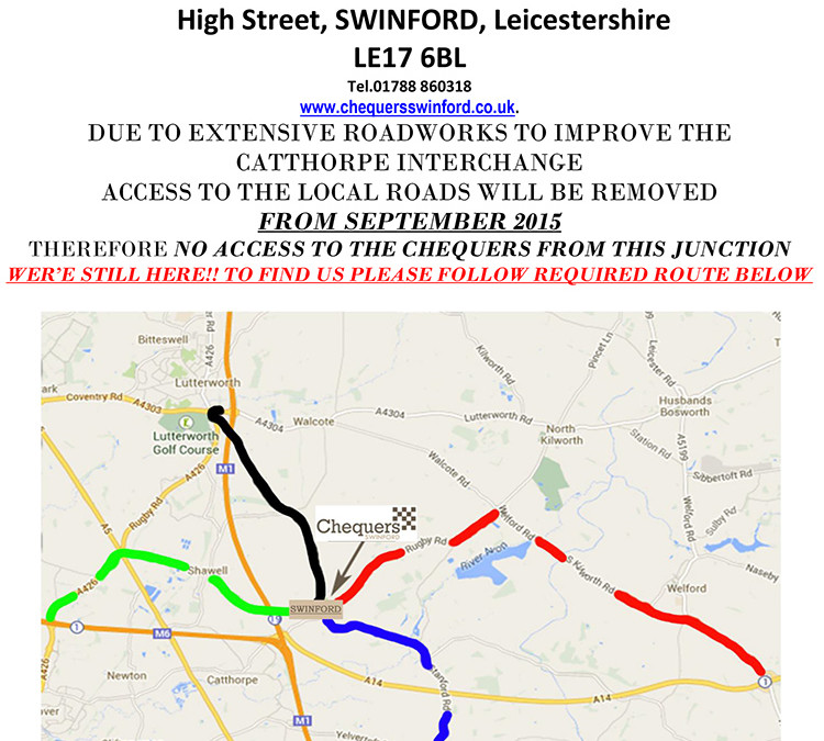 Diversion Roadworks