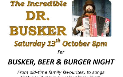 Busker 13th October